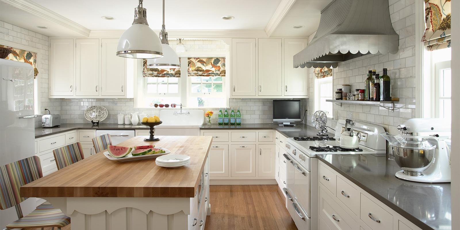 Vintage Kitchen - Rehkamp Larson Architects